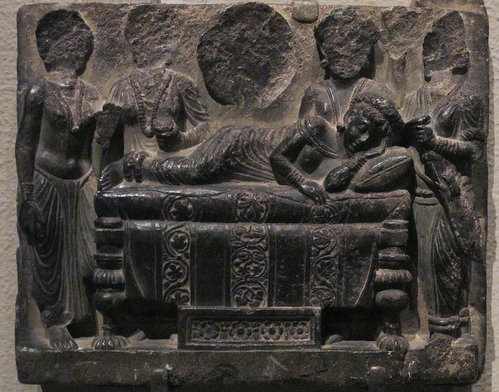 Dream of Queen Maya. Gandhara.Met.jpg