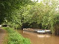 Dredging barges on the canal at Taunton.JPG