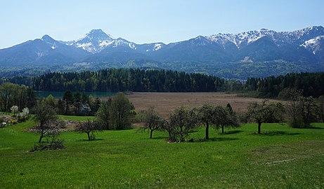 Drobollacher Moor zwischen Mittageskogel und Faakersee, Kärnten, Österreich, EU.jpg