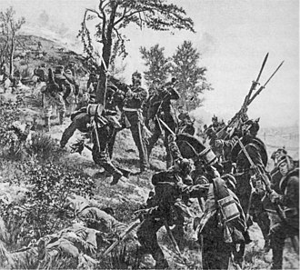 Battle of Spicheren - Anton von Werner's Assault on the heights of Spicheren showing General François's last charge