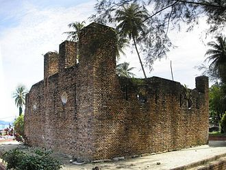 Perak - The ruins of the Dutch Fort on Pangkor Island