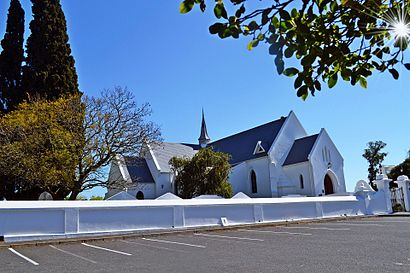 How to get to Durbanville with public transport- About the place