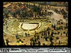 ETH-BIB-Athen, Dionysos-Theater, vom Pantheon gesehen-Dia 247-08751.tif