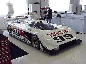 IMSA GT Championship - Toyota Eagle Mk.III GTP class car