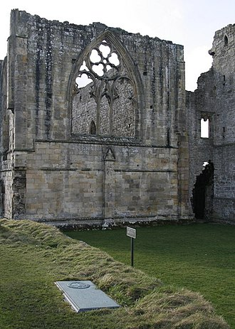 Easby Abbey - The Abbey remains