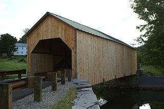 East Fairfield Covered Bridge