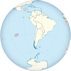 Easter Islands on the globe (Chile centered).svg