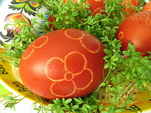 English: Easter egg Polski: Pisanka