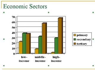 Economic sector conceptual grouping of economic activities