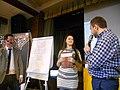 EdCamp Kharkiv 2016, заключний день, арт-скрайбінг, переможиця.JPG