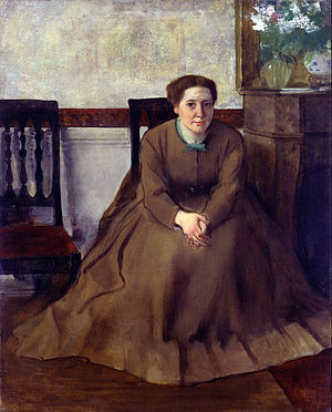 Victoria Dubourg - Image: Edgar Degas Victoria Dubourg Google Art Project