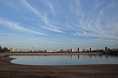 Edgbaston Reservoir and city.jpg