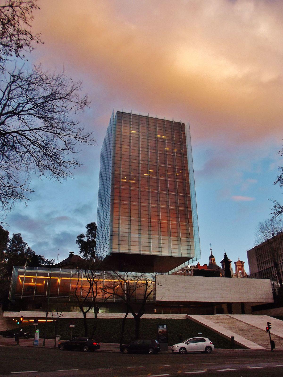Edificio castelar wikipedia la enciclopedia libre for Edificios oficinas madrid