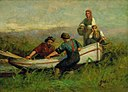 Edward Mitchell Bannister - People Near Boat - 1983.95.121 - Smithsonian American Art Museum.jpg