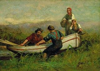 People Near Boat