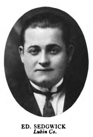 Sedgwick, Edward (1892-1953)