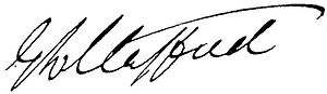 Edward Stafford (politician) - Image: Edward Stafford Signature