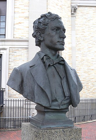 Hall of Fame for Great Americans - Image: Edwin Booth Ho F jeh