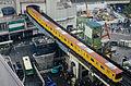 Een 1000 komt station Shibuya binnen, -30 april 2014 a.jpg