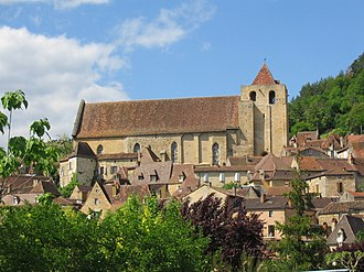Saint-Cyprien, Dordogne - Image: Eglise de Saint Cyprien
