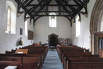 Beddgelert - Inside St Mary's Church