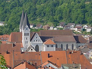 Bishopric of Eichstätt - Eichstätt Cathedral, founded by the first bishop Willibald in 741