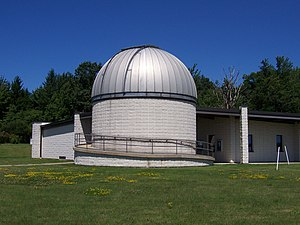 Collins Observatory - Image: Eileen M. Collins Observatory