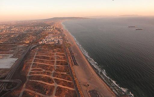 El Segundo, California aerial