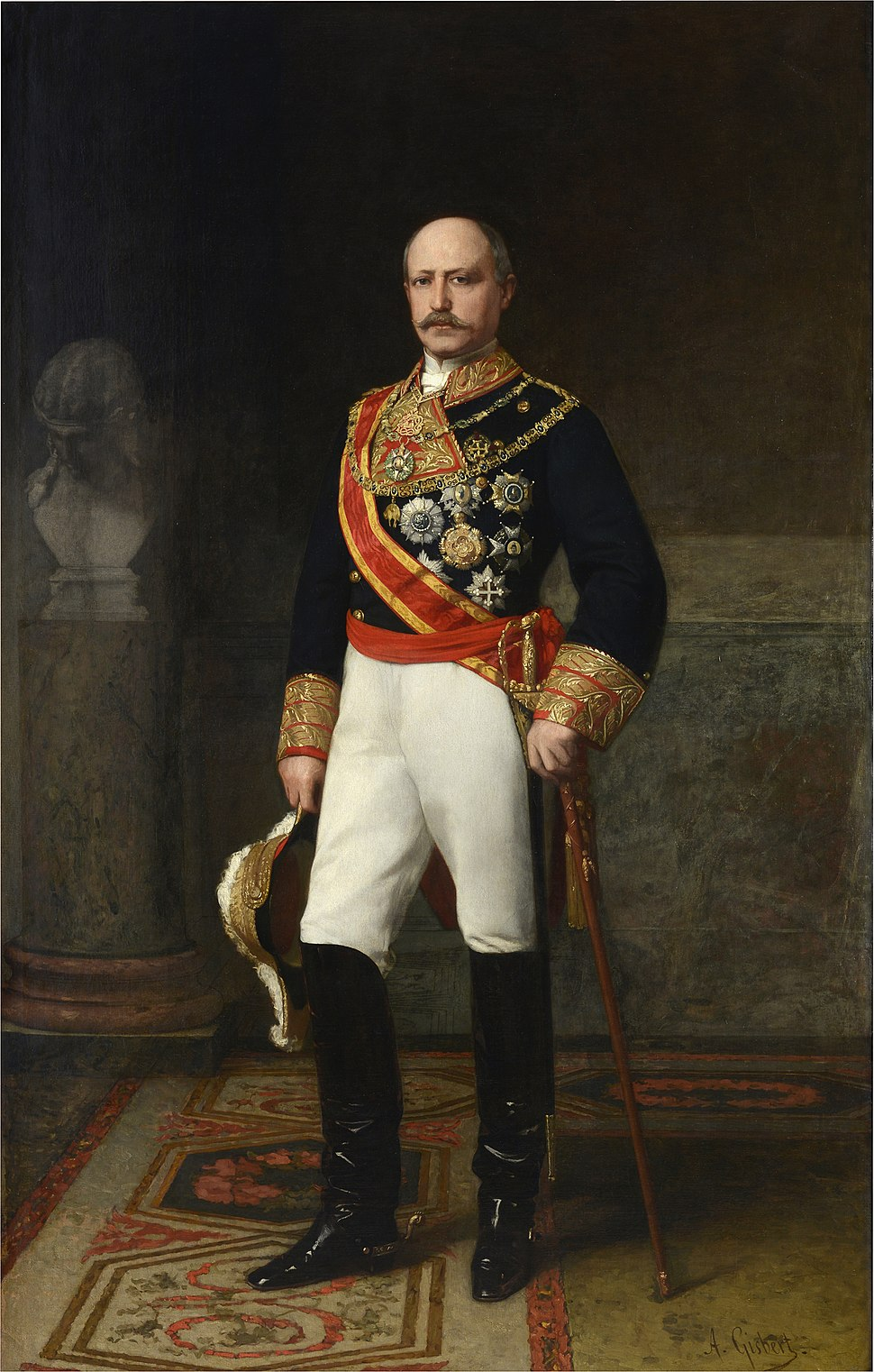 El capitán general Francisco Serrano, duque de la Torre