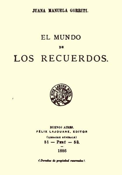 File:El mundo de los recuerdos - Juana Manuela Gorriti.pdf