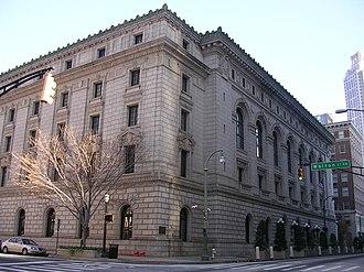 Elbert P. Tuttle United States Court of Appeals Building - Elbert P. Tuttle U.S. Courthouse, November 2007
