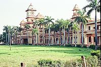BHU in Varanasi city