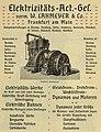 Elektrizitäts-AG vormals W. Lahmeyer & Co. 1900.jpg