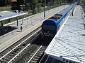 Elettrotreno TAF - Stazione di Fiera di Roma 01.JPG