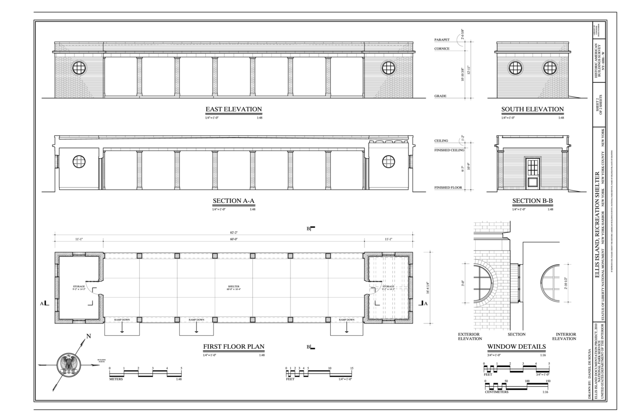 File elevations section first floor plan and window for Window floor plan