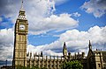 Elizabeth Tower and Palace of Westminster.jpg
