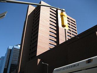 King Street (Hamilton, Ontario) - Ellen Fairclough Building/ Hamilton Convention Centre