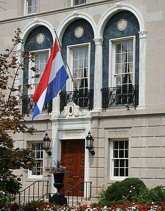 Netherlands–United States relations - Dutch Embassy, Washington, D.C.