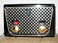 Emerson model 852 AM Radio belonging to Jon Hammond classic.jpg