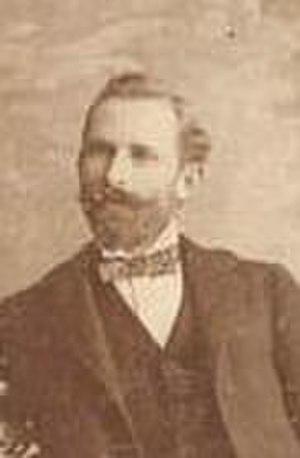 Emilio Núñez - Emilio Núñez taken in Tampa, Florida in 1898