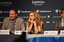 Emmelie de Forest, ESC2013 press conference 01.jpg