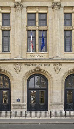 Entrée Principale Sorbonne