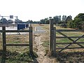 Entrance to the Norton, Thurlton and Thorpe playing field - geograph.org.uk - 1510931.jpg