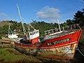 Epaves de navires de pêche - Anse du Diben - Plougasnou en 2015 - 01.jpg