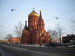 Epiphany church in Saint Petersburg