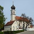 Erding, Paulskirche von Südwesten, 2.jpeg