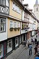Erfurt, Krämerbrücke, innen, Nordseite-003.jpg