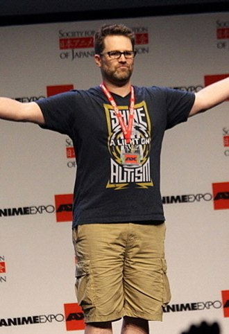 Eric Vale - Image: Eric Vale at Anime Expo 2013