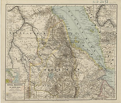 Map of Eritrea in 1896 Eritrea 1896.jpg