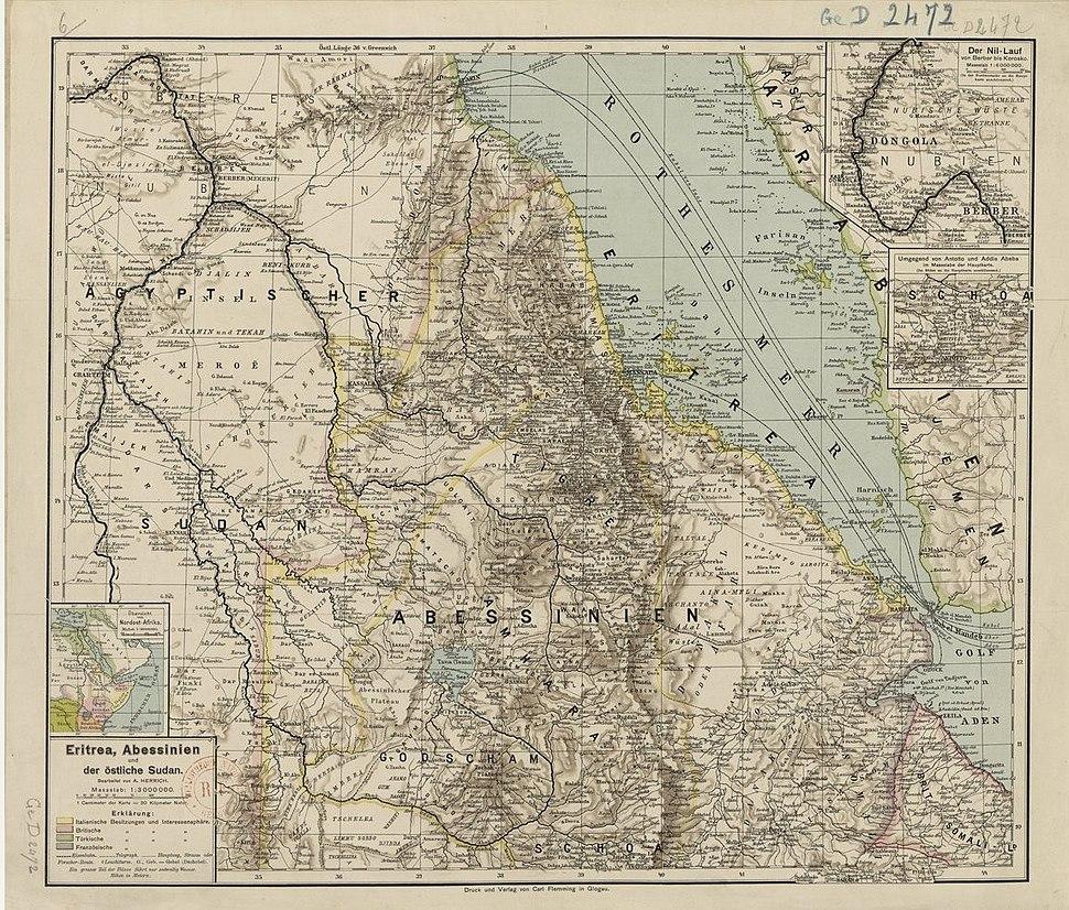 Eritrea 1896